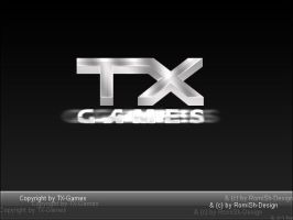 TX-Games - Logo by RomiSh