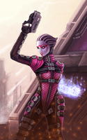 Asari MP by BioticKorgi