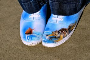 Scrat Shoes by xXxGoldenFlowerxXx