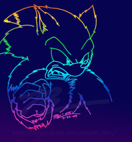 Werehog Sonic by Vega-Three