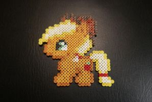 Applejack - My Little Pony Hama Beads by Nidoran4886