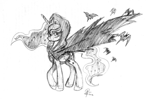 My Cloak is bats by leadhooves