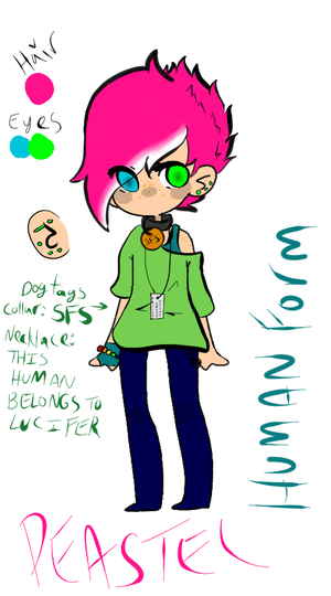 Peastel (human) 2014 Reference sheet