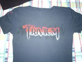 Trivium Fan T-Shirt No.1 back by Gorgone