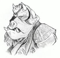 Sketchpad: Gamorrean Guard by JasonShoemaker