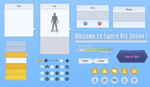 Sword Art Online Icons and more V0.3 by GPBeta