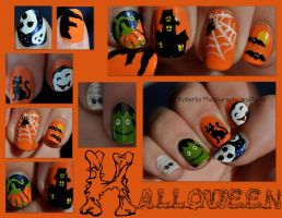 Halloween Nails by RobertsPhotography