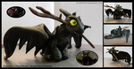 Toothless Figurine by iamSketchH