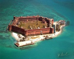 Fort Jefferson by barefootphotography