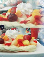 fruit salad in AD Marina mall by amirajuli