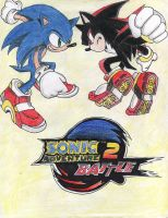 Sonic Adventure battle 2 by RiaStrifeChan