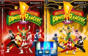 Mighty Morphin Power Rangers Season 1 by CaptainBarringer