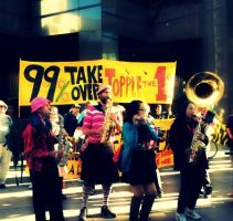 Occupy SF: Music by Sunset-Trails