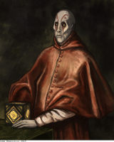 Portrait of the Inquisitor by Teq-Uila