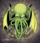 Final Cthulhu by dinomottaesmaga