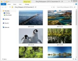 Bing Wallpapers (2013) December 01 - 31 by Misaki2009