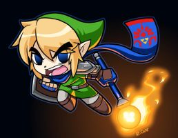 Toon Hyrule Warrior by rongs1234