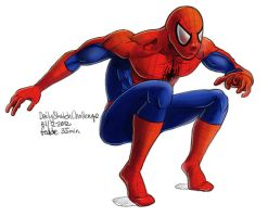 Daily Sketches Spiderman by fedde