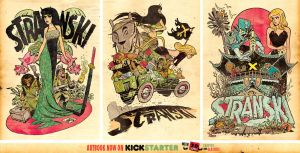 The Art of Stranski book on KICKSTARTER NOW by STUDIOBLINKTWICE