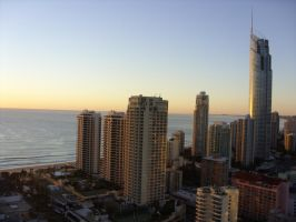 sunrise.view from apartment. by meL-xiNyi