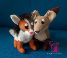 Plushy Love - commission by FurryFursuitMaker