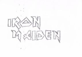 Iron Maiden logo by Maidenforever666