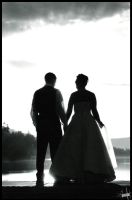 Sandpoint Wedding BW 1 by daveainley