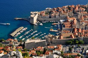 Dubrovnik Old Port from above 1 by wildplaces