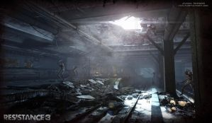 Resistance 3 Subway - (New York) by Jacob-3D
