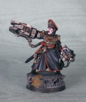 Commissar Yarrick by Kraylen