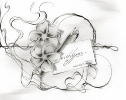 Blossoms in Pencil by Sultzaberger
