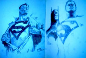 Alex Ross Studies by tazky