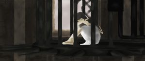 ICO Yorda In her Cage by Gekidami