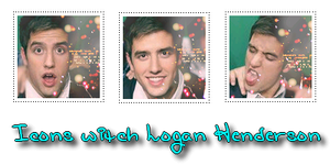 Icons witch Logan Henderson by busia11