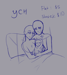 Happy Family YCH *OPEN* (Points+Paypal) by NyctOphelia