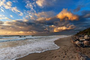 Golden clouds by khmaria