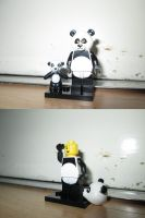 LEGO Movie - Panda Guy (71004) by KrytenMarkGen-0