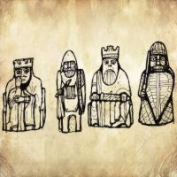 Lewis Chessmen by billiambabble