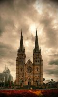 St Mary's Cathedral by aviel08