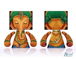 Custom Zagal  Ganesha by Akriel