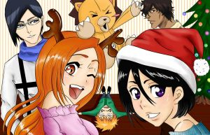 Merry Christmas and Happy New Year by Miaka-chin