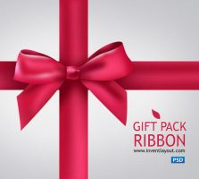 Gift Pack Ribbon by atifarshad