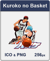 Kuroko no Basket - Anime Icon by Diow-Rebirth