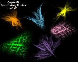 A3D Fractal Wings Set 6 by angela3d