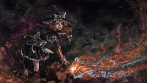Maelstrom of Meteors, Stealer of Stars by Zucreelo