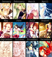 2011 Art Summary by Rosuuri