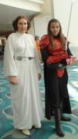 Princess Leia was guarded by young Imperial Knight by trivto