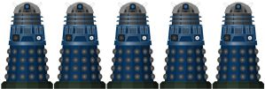 Doctor Who - The Eternity Circle Daleks by DoctorWhoOne
