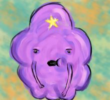 Lumpy Space Princess speed paint by PhlobieM