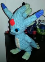 Final Fantasy Summon Carbuncle Doll by Chebk